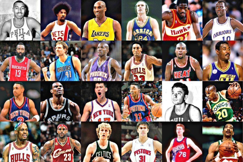 5 Pemain Bola Basket Legendaris Berdasarkan Posisi Mereka